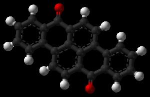 7,14-Dibenzpyrenequinone - Image: Vat yellow 4 3D balls