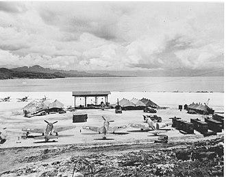 Vella Lavella - Image: Vella Lavella airfield Dec 1943