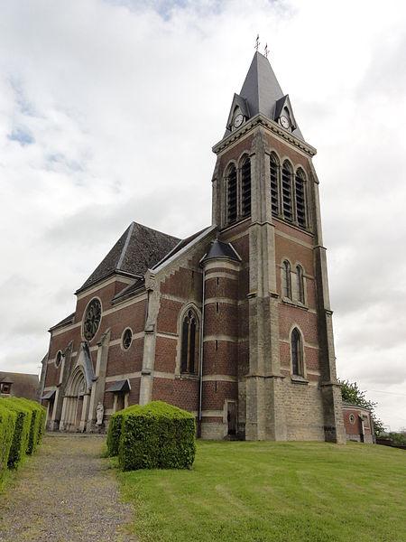 Vendeuil (Aisne) église