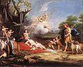 Venus e Adonis de Amigoni.jpg