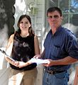 Victoria and Phil Knocking Doors.jpg