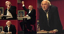 Vienna 2010-10-23 - Café Leopoldi - Austrian actor Justus Neumann reading from 'The Last Days of Mankind'.jpg