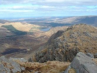 Ben Gorm - View from Ben Gorm