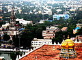 View from the ROCK FORT TEMPLE, Trichy.JPG