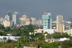 View of Santo Domingo Skyline