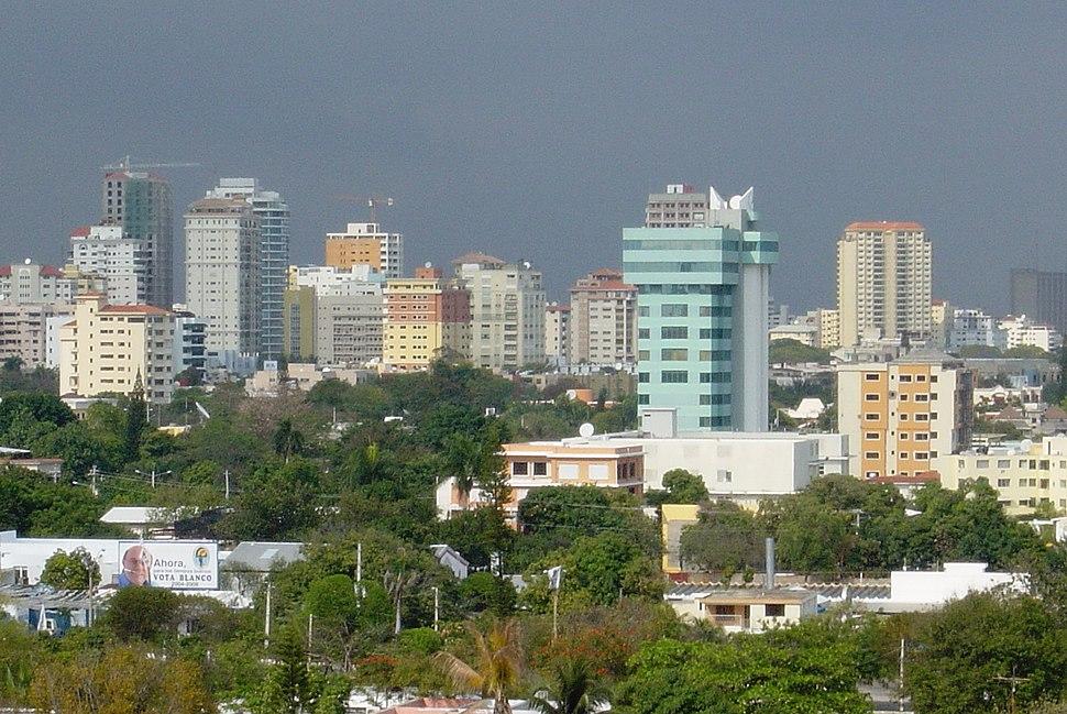 View of Santo Domingo Skyline
