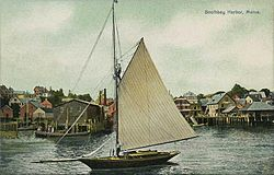 Waterfront in c. 1910