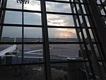View of apron from departure area of Shanghai Pudong International Airport.jpg