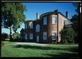 View of the north elevation - Dumbarton House, 2715 Q Street, Northwest, Washington, District of Columbia, DC HABS DC,GEO,09-25 (CT).tif