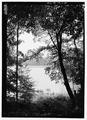 View of the pogue, shoreline. - Marsh-Billings-Rockefeller National Historical Park, 54 Elm Street, Woodstock, Windsor County, VT HALS VT-1-30.tif