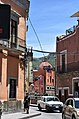 View of truck passing on street in Guanajuato.jpg