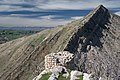Views around the river, mountains, cemetery, and Ottoman-era fort at Dween 40.jpg