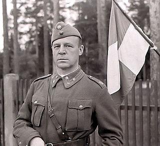 Einar Vihma Finnish General Major