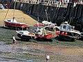Viking Bay boats at Broadstairs Kent England.jpg