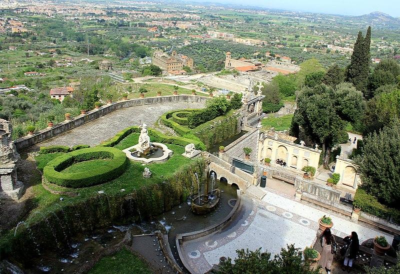 Top 10 des villes 2014 n 8 tivoli italie sur les pas for Jardin villa d este