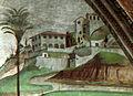 Villa medici a fiesole (dettaglio), dormitio virginis domenico ghirlandaio cappella tornabuoni SMN.jpg
