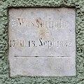 Villach Innenstadt Lederergasse Hegerhaus Hochwassermarke 1882 23032015 1089.jpg