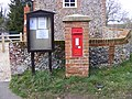 Village Notice Board and Victorian Postbox, Marlesford - geograph.org.uk - 1182399.jpg