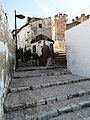 Villena. Primera manzana y Castillo.JPG