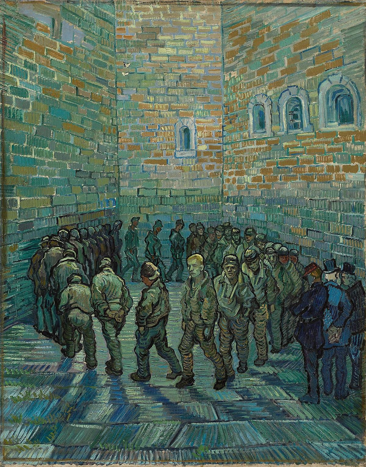 Risultato immagini per la ronda dei carcerati
