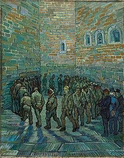 La ronda de los prisioneros Vicent Van Gogh (1890)