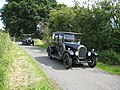 Vintage car rally, near Portway - geograph.org.uk - 885034.jpg