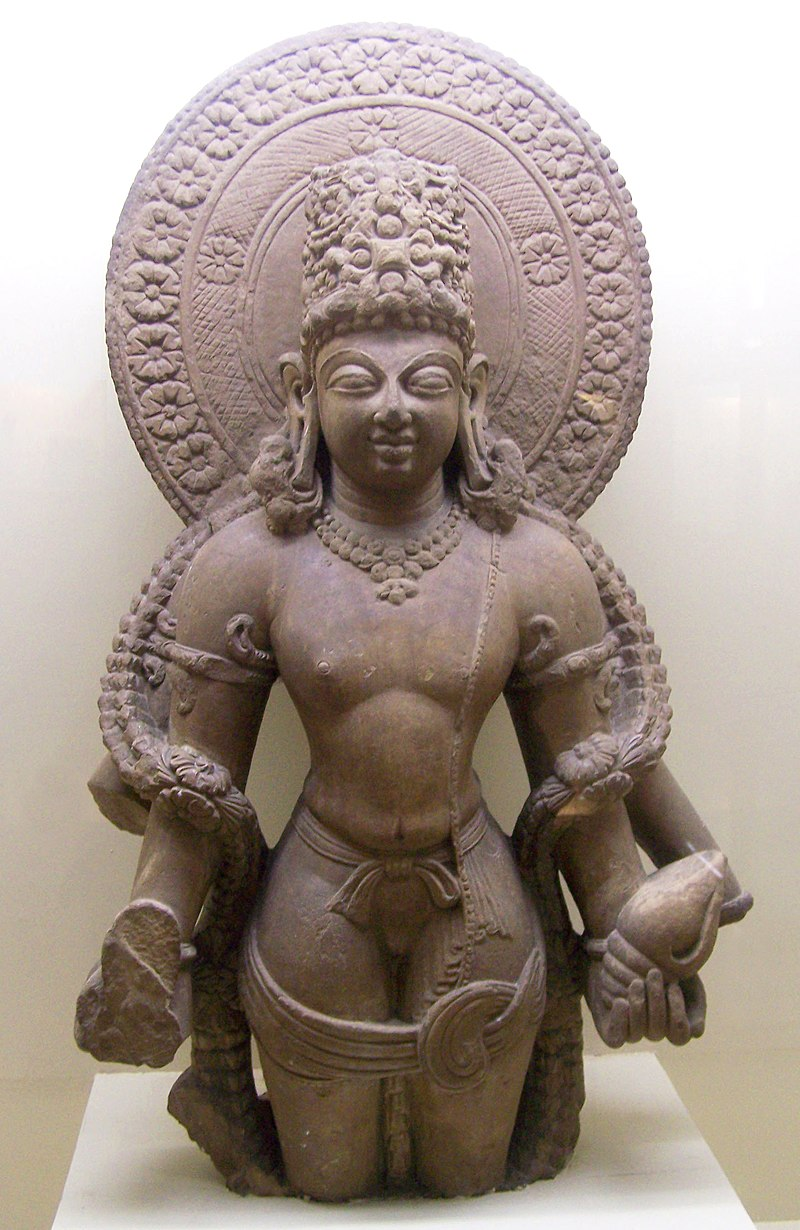Vishnu of Mathura, 5th century.jpg