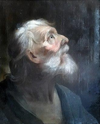 Francesco Carlo Rusca - Vision of St. John the Evangelist (1737)