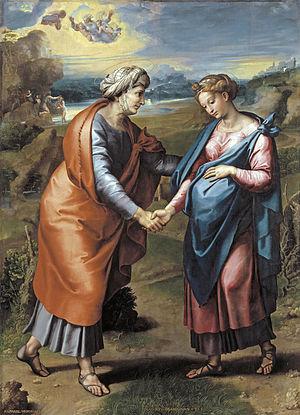 Visitation (Raphael) - Image: Visitación de Rafael