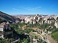 Vista de la hoz del río Huécar en Cuenca (España).JPG