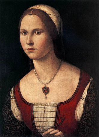 Vittore Carpaccio - Portrait of a Woman (c. 1510)