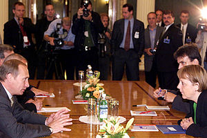 English: THE RUSSIAN EMBASSY, BERLIN. Presiden...