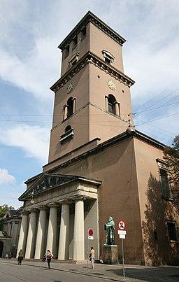 Kirketårnet i september 2006
