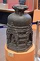 Votive Stupa - Basalt - ca 11th Century CE - Pala Period - Bodhgaya - ACCN BG 108-A24210 - Indian Museum - Kolkata 2016-03-06 1601.JPG