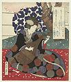 Vrouw met Japanse luit (biwa)-Rijksmuseum RP-P-1958-387.jpeg