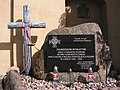 Włocławek-memorial stone of cursed soliders and civil victims of commuism.jpg