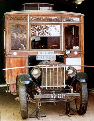 Overlanding - The Weston motorcaravan at Winterton Museum