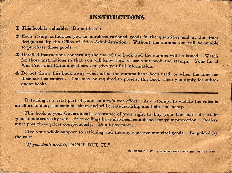 File:WWII USA Ration Book 3 Back.jpg