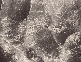 First Battle of Monte Grappa - Austrian trenches on the Asolone flank of the Monte Grappa massif