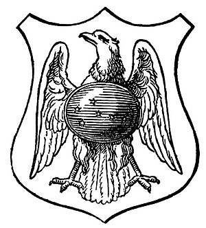 Mein Leben (Wagner) - Wagner family crest devised for Mein Leben (see text, The frontispiece)