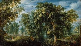 Forest landscape (1622)