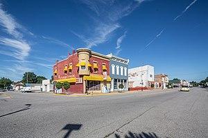 Walkerton, Indiana - Downtown Walkerton