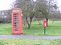 Walpole Telephone Box and Walpole Green Post Box - geograph.org.uk - 1088929.jpg