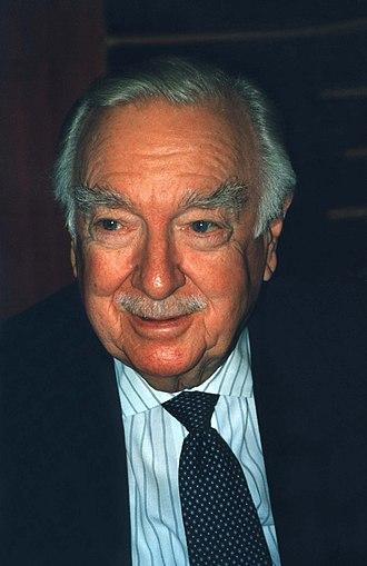 Walter Cronkite - Walter Cronkite in 1996