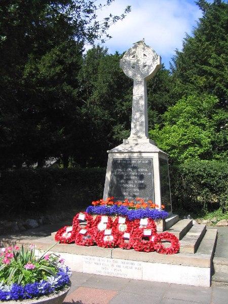 File:War Memorial, Corbets Tey Road, Upminster, Essex - geograph.org.uk - 26413.jpg