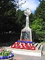 War Memorial, Corbets Tey Road, Upminster, Essex - geograph.org.uk - 26413.jpg