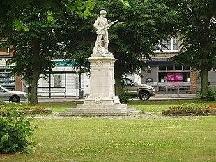 The Green and The War Memorial