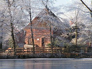 Lohne, Germany - Image: Wassermühle im Lohner Stadtpark