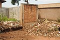 Waste collection of the market blocking the access to the toilets septic tanks (6777099626).jpg