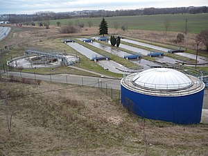 Wastewater treatment plant Hostivice